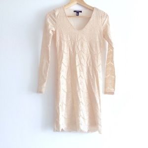 Forever 21 Long Sleeve Lace Dress Small